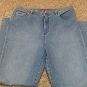 Gloria Vanderbilt Amanda Jeans Size 14 Hig…